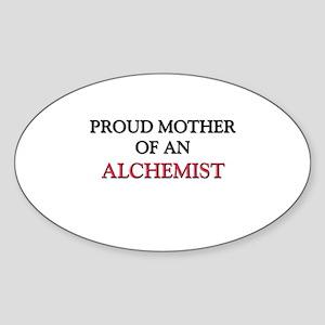 Proud Mother Of An ALDERMAN Oval Sticker