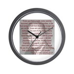 'Spread the Wealth Around' Ike Wall Clock