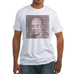'Spread the Wealth Around' Ike Fitted T-Shirt