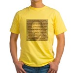 'Spread the Wealth Around' Ike Yellow T-Shirt