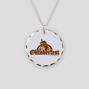Oktoberfest Dachshund Necklace