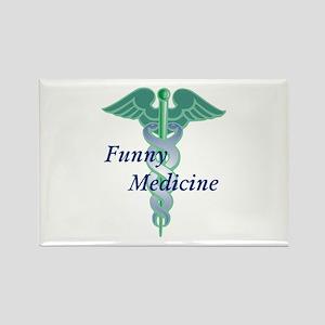Funny Medicine Rectangle Magnet