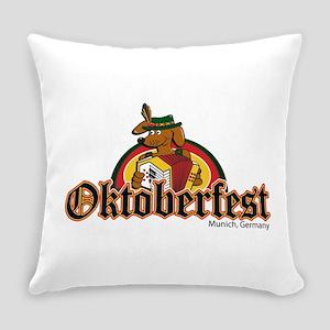 Oktoberfest Dachshund Everyday Pillow