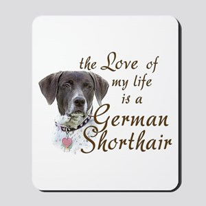 Love German Shorthair Mousepad