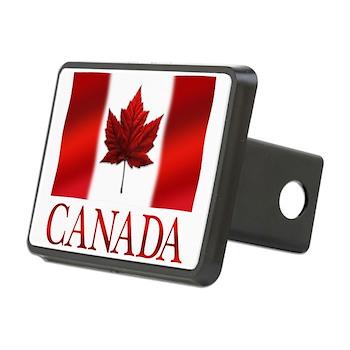 Canada Flag Souvenirs Rectangular Hitch Cover