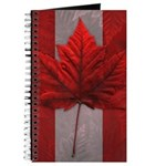 Canada Flag Souvenirs Journal