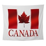 Canada Flag Souvenirs Wall Tapestry