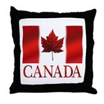 Canada Flag Souvenirs Throw Pillow