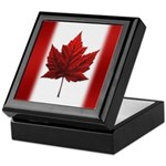Canada Flag Souvenirs Keepsake Box