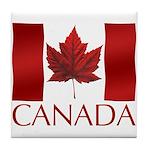 Canada Flag Souvenirs Tile Coaster