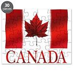 Canada Flag Souvenirs Puzzle