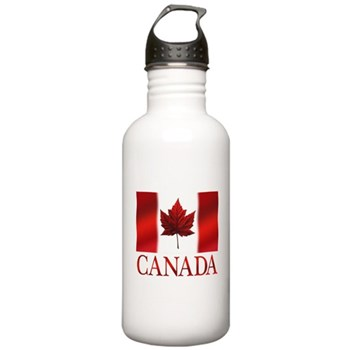 Canada Flag Souvenirs Water Bottle