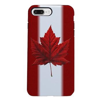 Canada Flag Souvenirs iPhone 8/7 Plus Tough Case