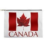 Canada Flag Souvenirs Makeup Bag