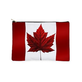 Canada Flag Souvenirs Makeup Bag