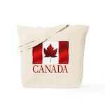 Canada Flag Souvenirs Tote Bag