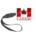 Canada Flag Souvenirs Large Luggage Tag