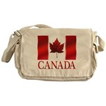 Canada Flag Souvenirs Messenger Bag