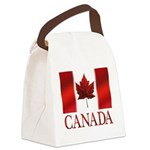 Canada Flag Souvenirs Canvas Lunch Bag