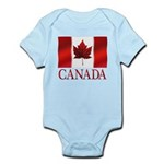 Canada Flag Souvenirs Body Suit