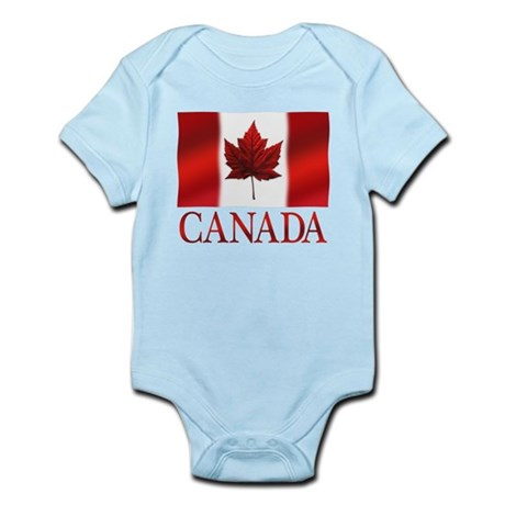 Canada Flag Souvenirs Body Suit
