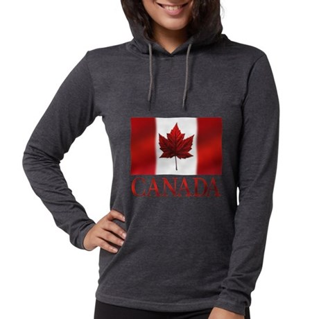 Canada Flag Souvenirs Long Sleeve T-Shirt