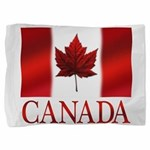 Canada Flag Souvenirs Pillow Sham