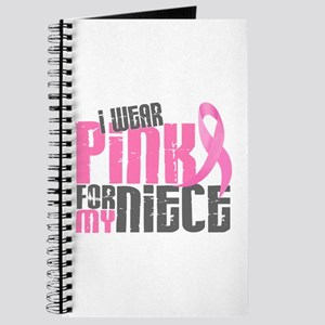 I Wear Pink For My Niece 6.2 Journal