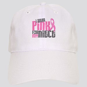 I Wear Pink For My Niece 6.2 Cap