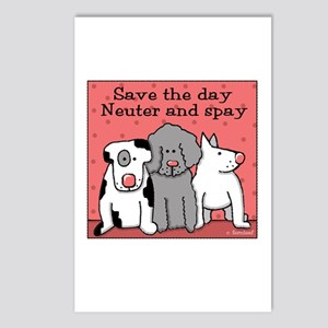Dog Spay and Neuter Postcards (Package of 8)