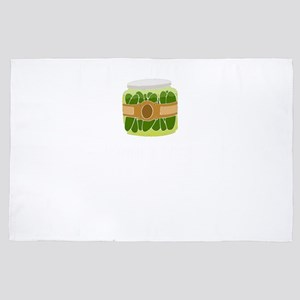Pickles Brine and Dine Pickle Lover 4' x 6' Rug