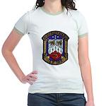 USS KIRK Jr. Ringer T-Shirt