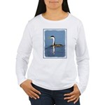 Clark's Grebe Women's Long Sleeve T-Shirt