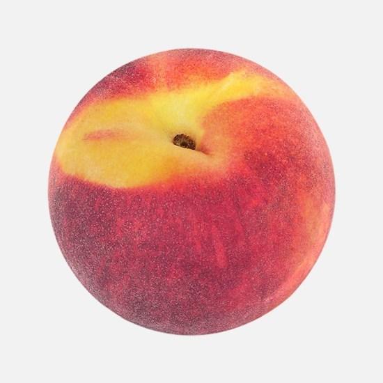 """Atlanta Fuzzy Peach 3.5"""" Button"""