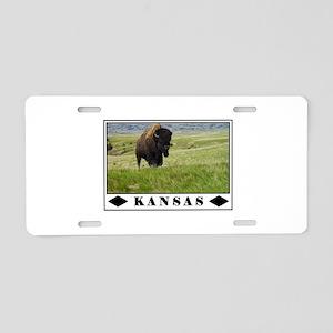 KANSAS SO WONDERFUL Aluminum License Plate