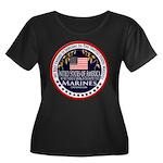 Marine Corps Best Friend Women's Plus Size Scoop N
