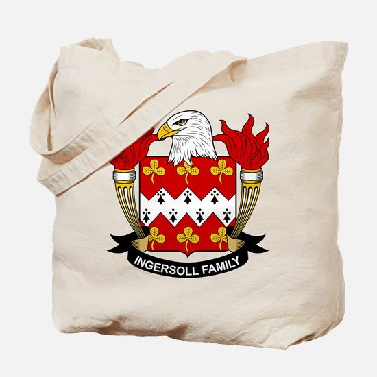 Ingersoll Family Crest Tote Bag