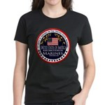 Marine Corps Aunt Women's Dark T-Shirt