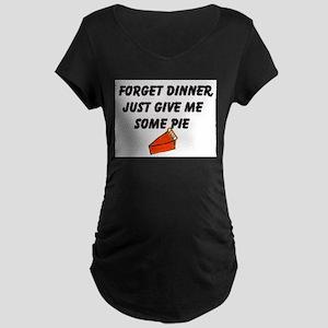 Pie Maternity Dark T-Shirt