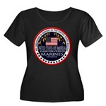 Marine Corps Girlfriend Women's Plus Size Scoop Ne