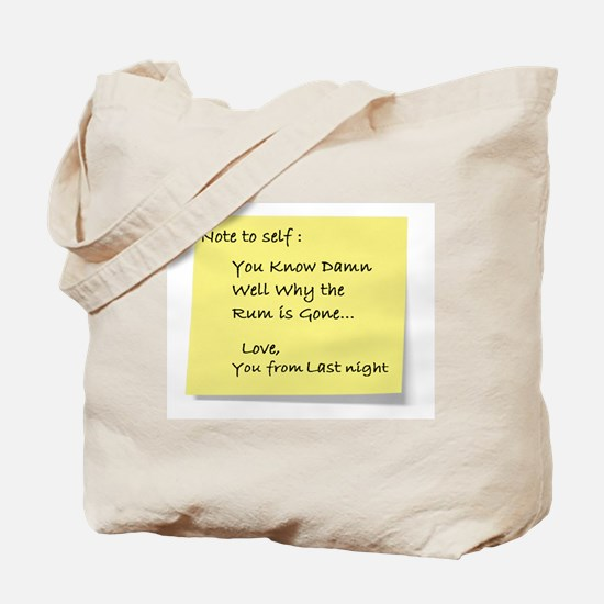 Note to self... Tote Bag