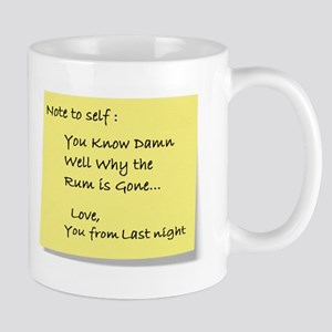 Note to self... Mug
