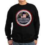 Marine Corps Daughter Sweatshirt (dark)