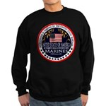 Marine Corps Husband Sweatshirt (dark)