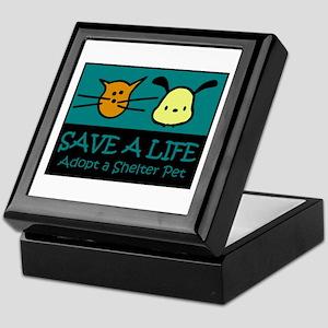 Save A Life Adopt a Pet Keepsake Box