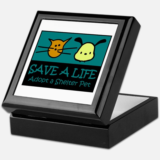 Save A Life Adopt a Pet Keepsake Box