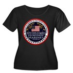 Marine Corps Uncle Women's Plus Size Scoop Neck Da