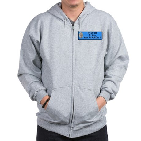 Save Your Ass Zip Hoodie