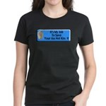 Save Your Ass Women's Dark T-Shirt