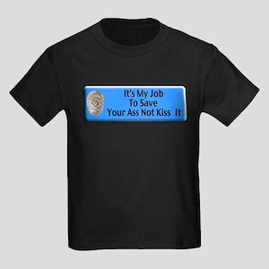 Save Your Ass Kids Dark T-Shirt